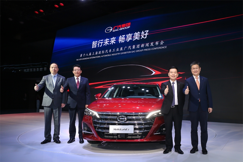 GAC Motor เปิดตัวรถรุ่นใหม่ GA6, GS4 และ GS8