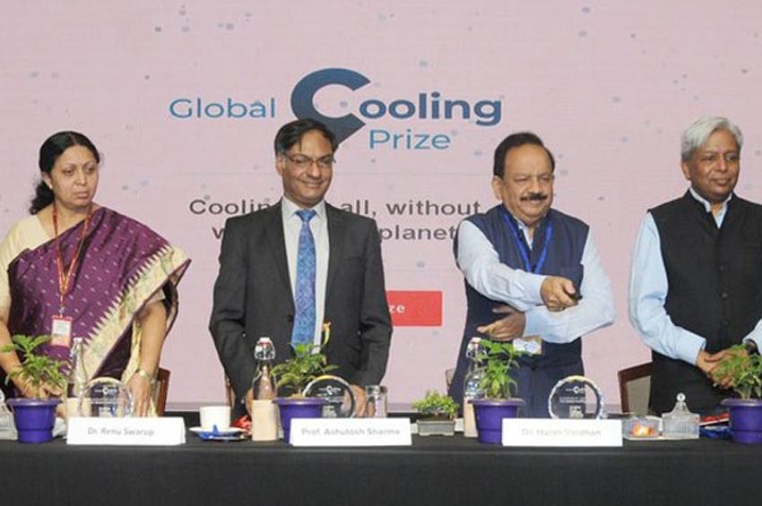 รัฐบาลอินเดีย ร่วมกับองค์กร Mission Innovation และ Rocky Mountain Institute เปิดตัวรางวัล Global Cooling Prize