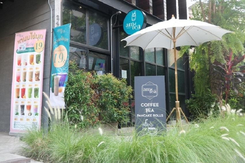 """ชานม Am Tea โตสวนโควิด เปิดตัว""""Am Tea Café"""" ขยายอีก50 สาขา"""