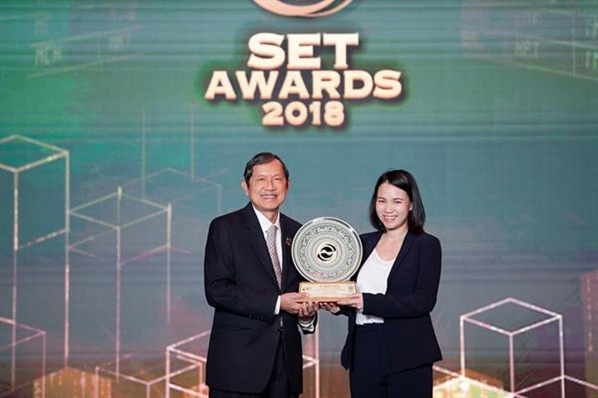 ช.การช่าง รับรางวัลยอดเยี่ยม (Best Investor Relations Awards)