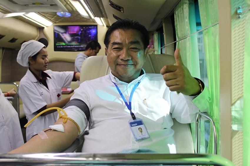 สินมั่นคงประกันภัย ร่วมบริจาคโลหิตให้กับ สภากาชาดไทย