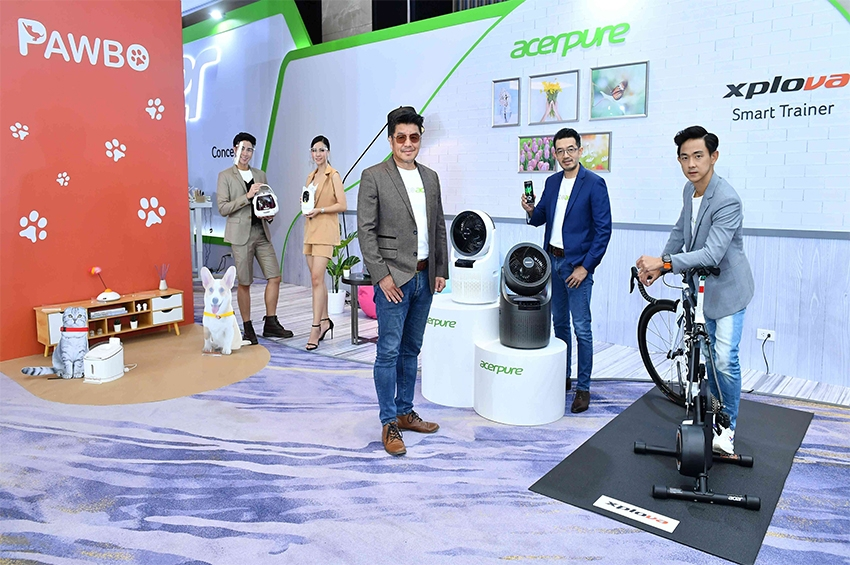 Acer มุ่งเป้าสู่ Lifestyle Brands ผลิตภัณฑ์ตอบโจทย์ไลฟ์สไตล์ Live, Work, Learn, Play