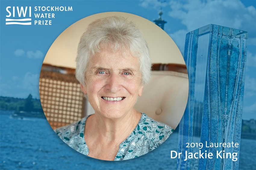 Dr Jackie King คว้ารางวัล Stockholm Water Prize