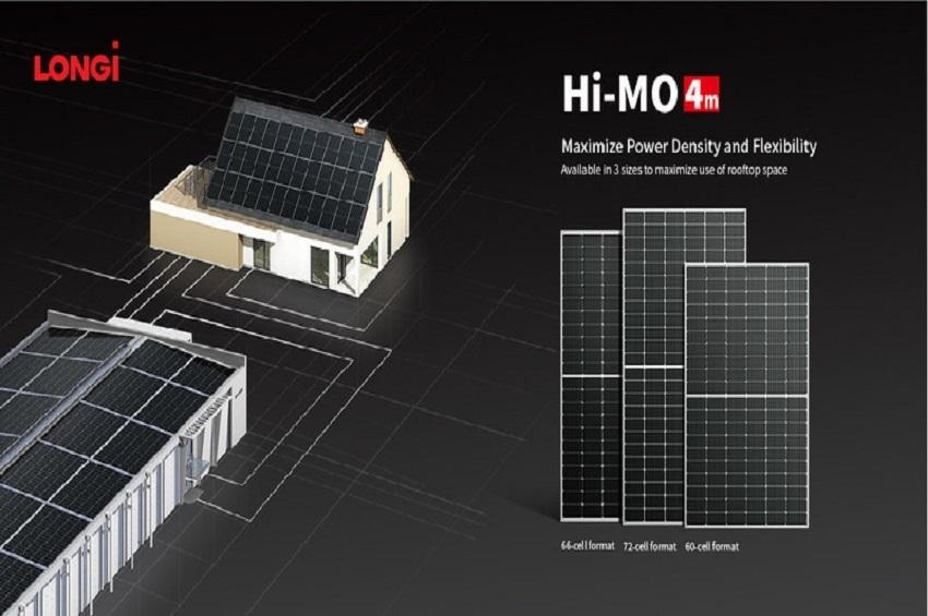 LONGi เปิดตัวแผงซีรีส์ Hi-MO 4m รุ่น 66C รองรับตลาดโลก