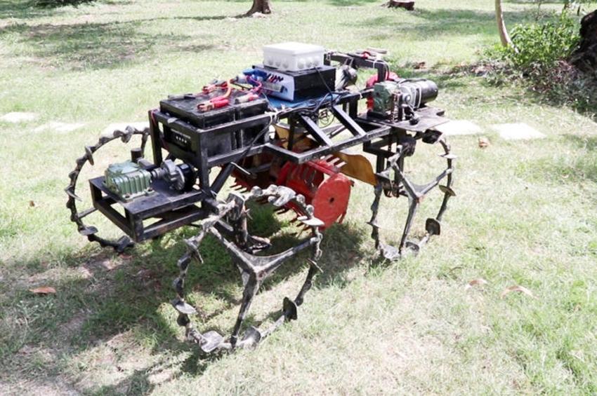 """ไทยทำสำเร็จ """"หุ่นยนต์กำจัดวัชพืชในนาข้าว"""" ช่วยเกษตรกรเพิ่มผลผลิต"""