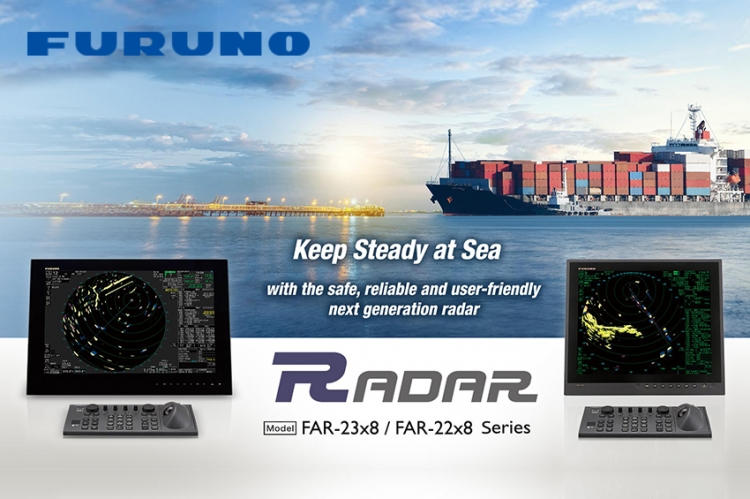 FURUNO releases the FAR-22x8/23x8 marine radar series
