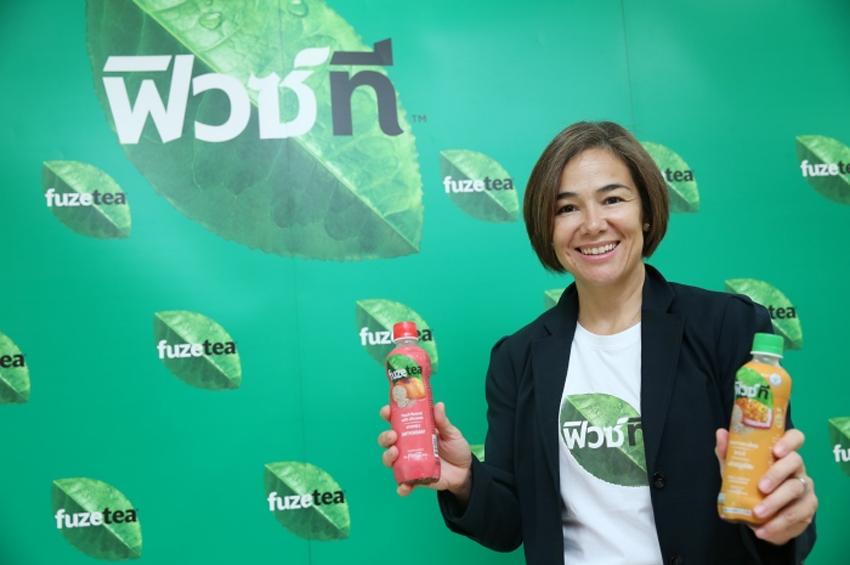 'โคคา-โคลา' ส่ง 'ฟิวซ์ที' รุกตลาดชาพร้อมดื่มกว่า 1.3 หมื่นล้าน มุ่งเจาะกลุ่มคนรักสุขภาพ