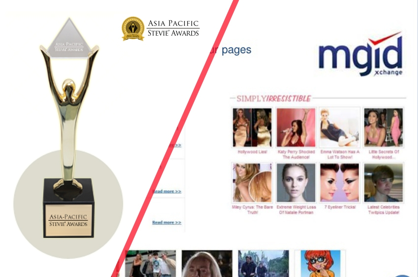 MGID คว้า Sliver Stevie(R) Awards 2 รางวัล